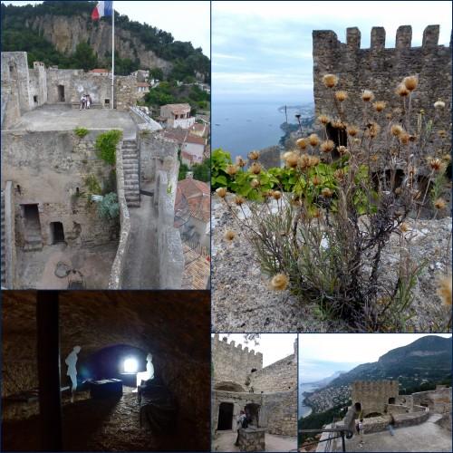 Roquebrune Cap Martin, Chateau Grimaldi, L'olivier centenaire, Le cabanon de Lecorbusier