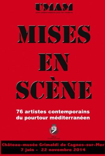 UMAM 2014, Château-musée Grimaldi Cagnes s/mer, mises en scènes,