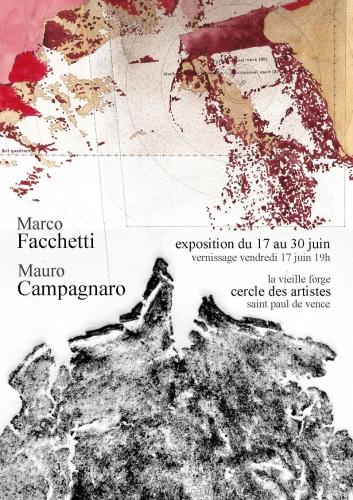 cercle des artistes, marco facchetti et mauro campagnaro