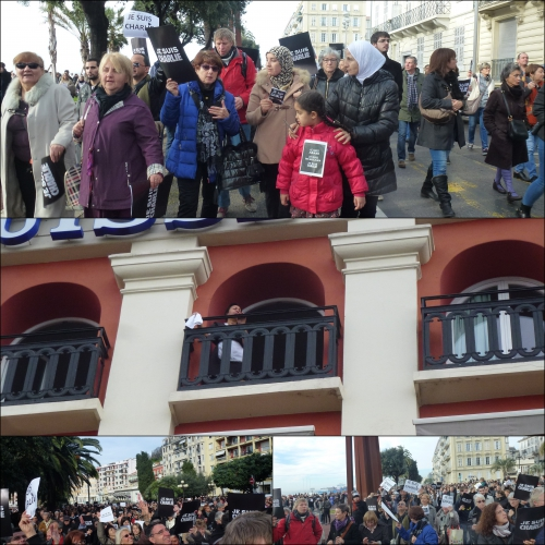 HOMMAGE CHARLIE HEBDO, MARCHE POUR CHARLIE