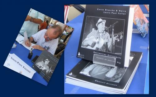 Louis-Paul Fallot, Carte blanche & noire, Editions Baie des Anges, Rencontres artistiques