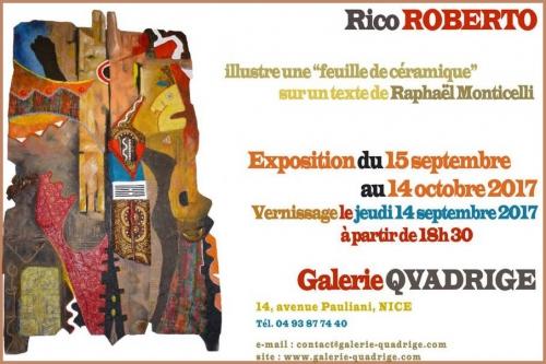 rico roberto, galerie quadrige nice