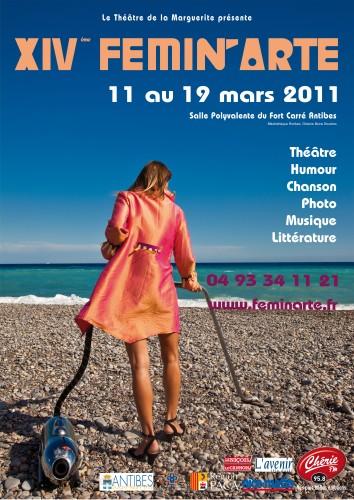 Femin'Arte 2011, théatre de la marguerite