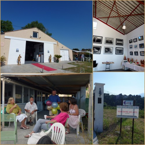 Rencontre des arts, St laurent du var,