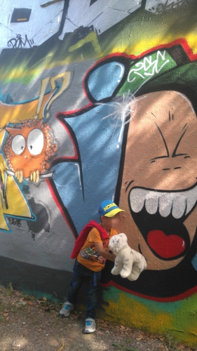 Graffs, murs d'expression artistique libre, cagnes sur mer, lycée escoffier, bords de cagne