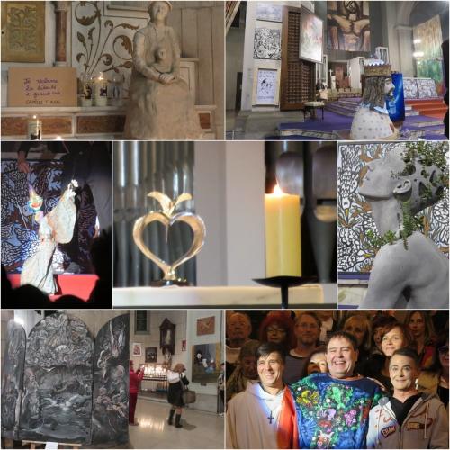 Messe des artistes, voeu de Wilette