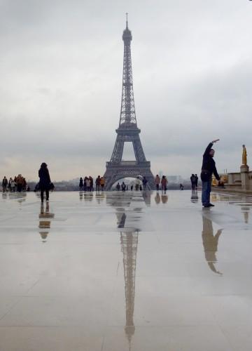 Paris, tour eiffel, trocadéro