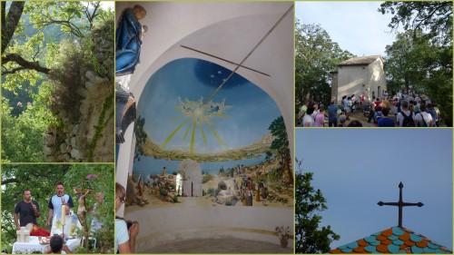 Feux de la St Jean, Vence, Chapelle St Raphael