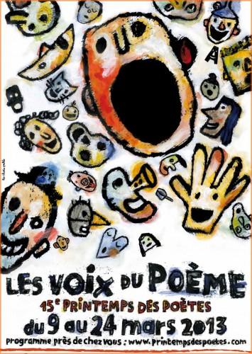 printemps des poètes 2013, journées Poet Poet