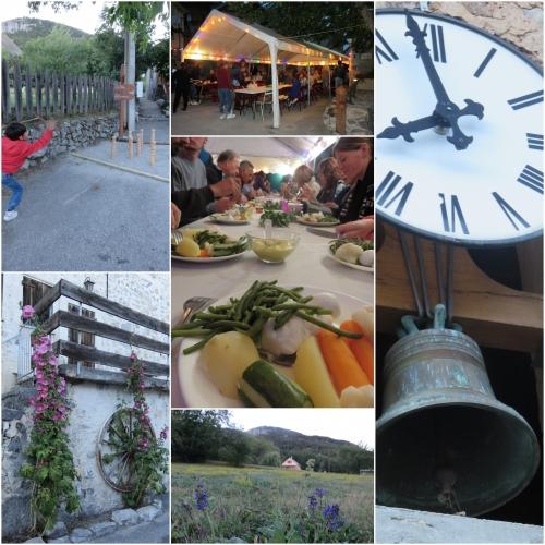 Sauze, Gorges de Daluis, festin de village, DJ'H