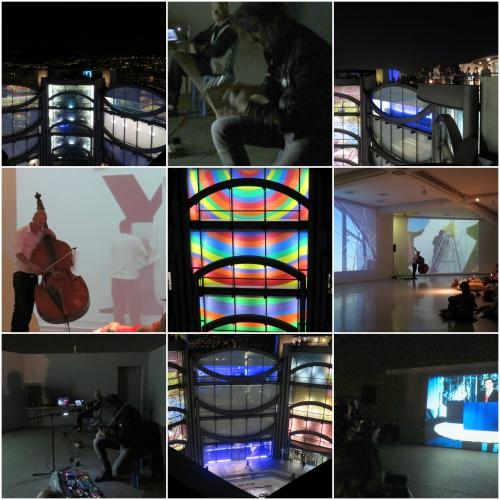 Nuit des musées 2016, Mamac Nice, Compagnie au balcon