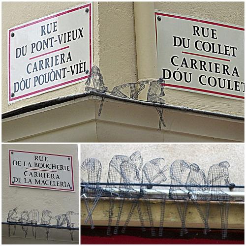 Vieux-Nice, pics anti-pigeon,