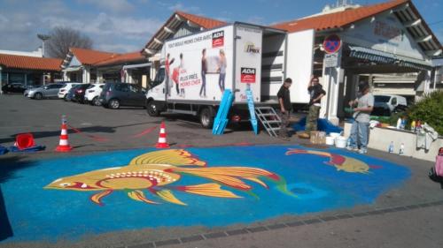 Ici commence la mer, cannes street art, ne vous trompez pas de poubelles, totipotent