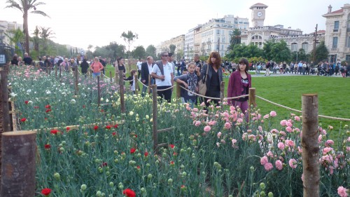 Promenade du paillon, coulée verte, inauguration promenade du paillon, Nice