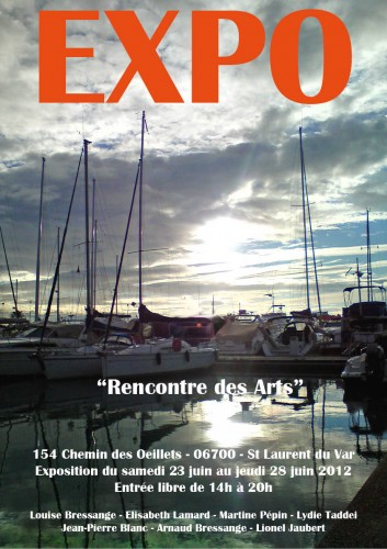 galerie rencontre des arts,association rencontre des arts,saint laurent du var