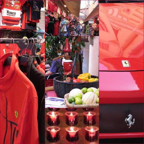 Expo Rouge Monaco, artistes en mouvement,