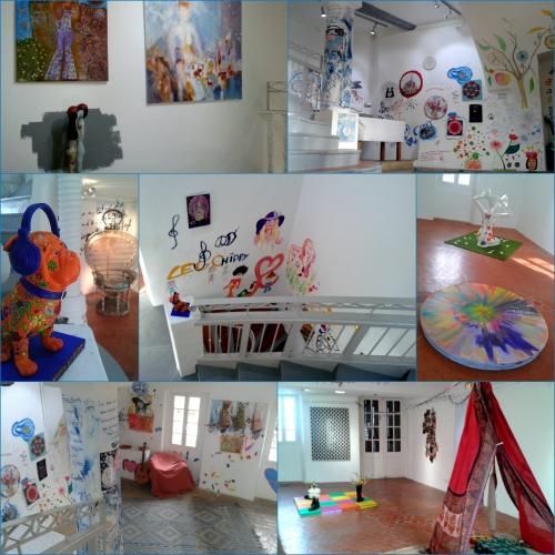 Art Maintenant, Haut de Cagnes, MDAC, Galerie et maison Solidor,