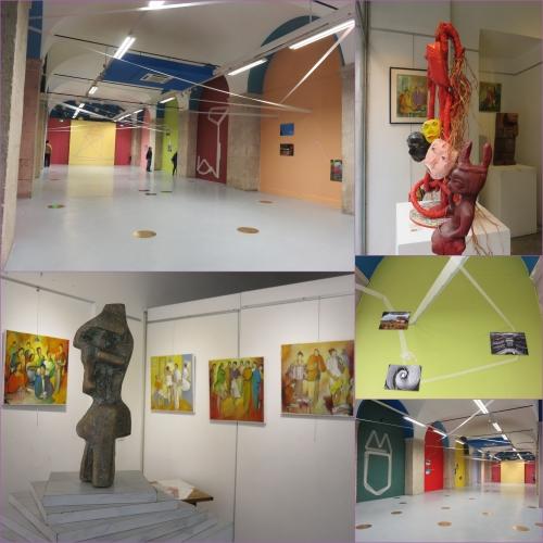 Ruelles du Vieux-Nice, Galerie des Ponchettes, Galerie des dominicains, Max Galli, Prom'du coeur