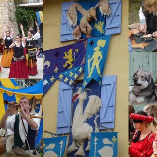 tourrettes-levens, Fête médiévale