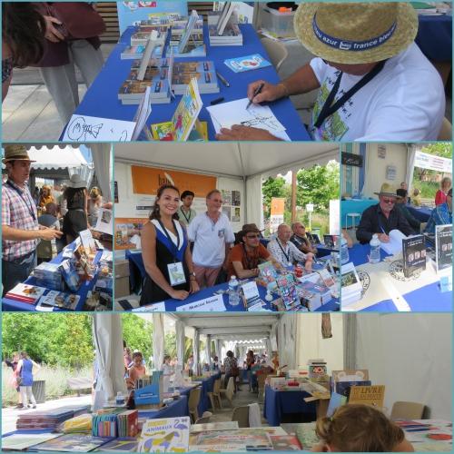 Festival du livre de Nice 2017, Editions Baie des Anges, Editions Mémoires Millénaires,