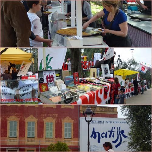 Nice,marché de la libération, 1er mai, muguet, cimiez, fête des mai