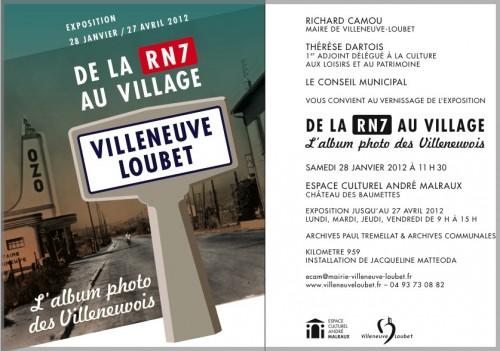 De la RN7 au village, Villeneuve Loubet, Kilomètre 905, Jacqueline Matteoda