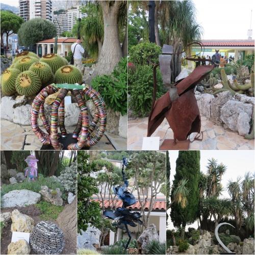 jardin exotique monaco, aiap unesco monaco, quand fleurissent les sculptures