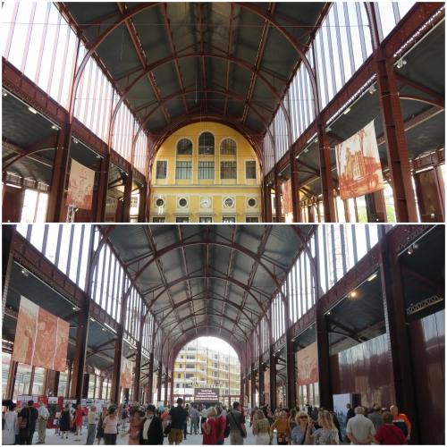 Inauguration du hall de la gare du sud, Nice, Bibliothèque Raoul Mille