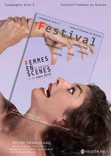 femin'arte 2016,antibes,femmes en scènes 2016,nice