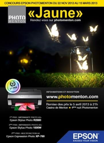 Photomenton concours jaune