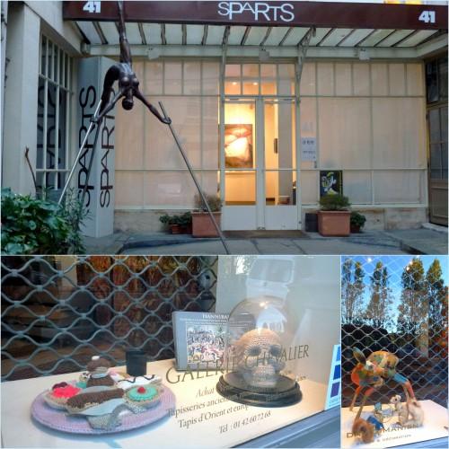 Paris, Champs Elysées, Arc de triomphe, Quartier St Germain des près