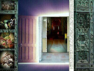 porte ex-voto, eglise saint pierre d'aréne nice