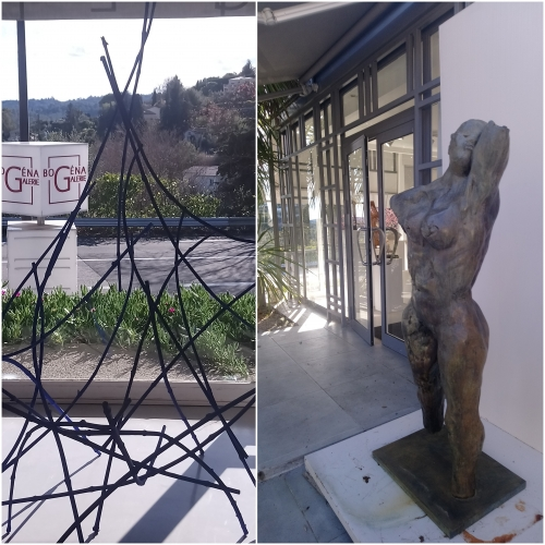 St Paul de Vence, Galerie Bogena, place du tilleul, la forge