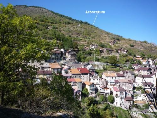 roure,vallée de la tinée,chapelle saint sébastien,le diable