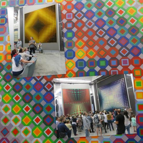 Fondation Vasarely, Aix en Provence, victor vasarely