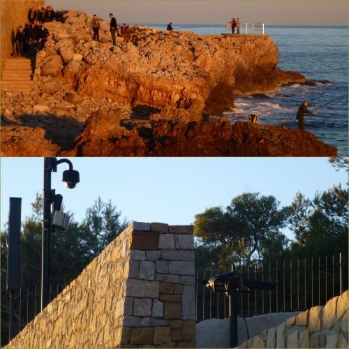 antibes, sentier des douaniers, sentier du littoral