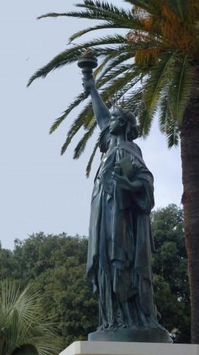 statue de la liberté, nice