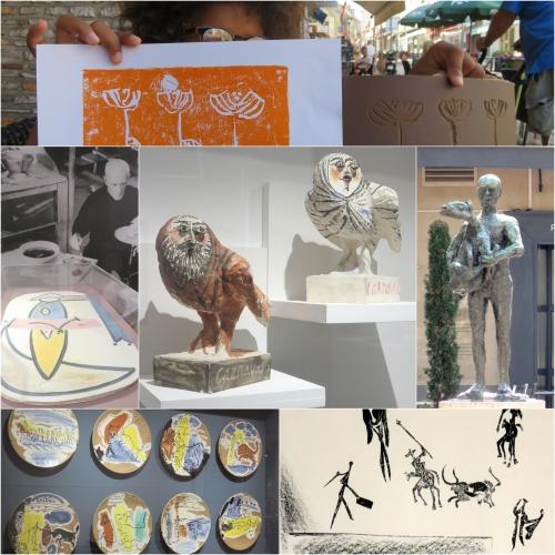 Picasso Méditerranée, Picasso Musée Vallauris, Picasso Musée Vence, Picasso Musée Fabre