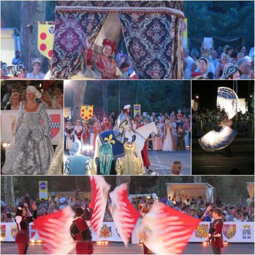 Fêtes renaissance villeneuve loubet, fêtes vénitiennes St jean cap ferrat, jazz au château cagnes, estivales cg06,