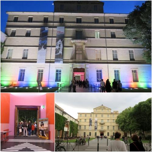 Nuit des musées 2018, Musée Fabre Montpellier, Jean-Michel Meurice, Claude Viallat