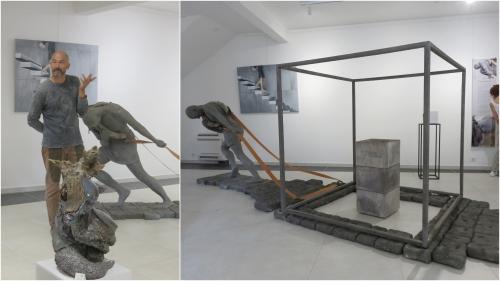 Barna Gacsi, Le traîneur, Galerie Inattendue Paul Conti