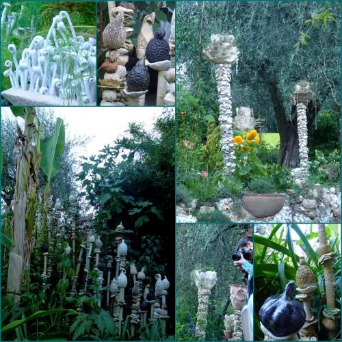 jardin de poteries, gattieres