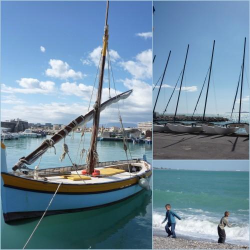 Cros de Cagnes, Cagnes sur mer, Promenade du bord de mer