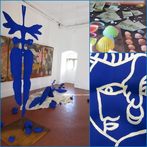Yves Klein, hommage, château grimaldi, haut de cagnes