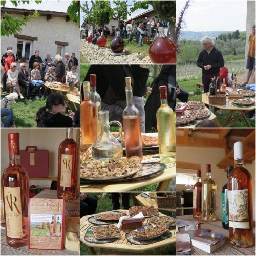 de ferme en ferme 2016,st jeannet,vignobles rasse,la clémandine,pierre boijout,agriculture bio