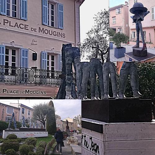 Tomek, Mougins village