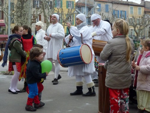 le carnaval des bouffetares Vence