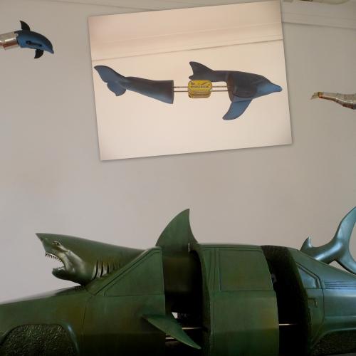 expo zones vagues, Rubinstein, Château-musée Grimaldi