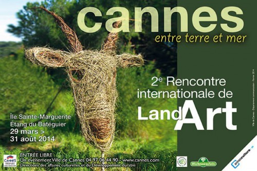 land art, cannes, ile sainte marguerite