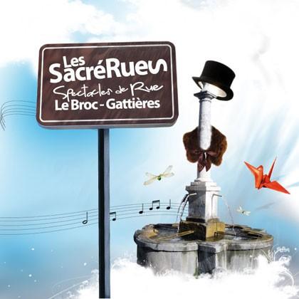 sacrérues le broc gattières, deantibulations,roulez carros,rue(z) & vous,château en fête,festival des arts de la rue